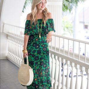 Boohoo blogger favorite off shoulder dress